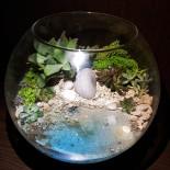 Флорариум в аквариуме с водой_ArtFloria_3