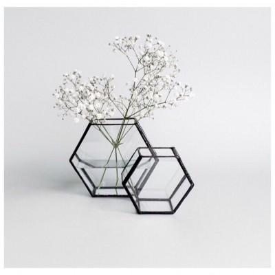 Геометрический флорариум «Шестиугольник»