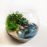 Флорариум в аквариуме с водой_6_ArtFloria